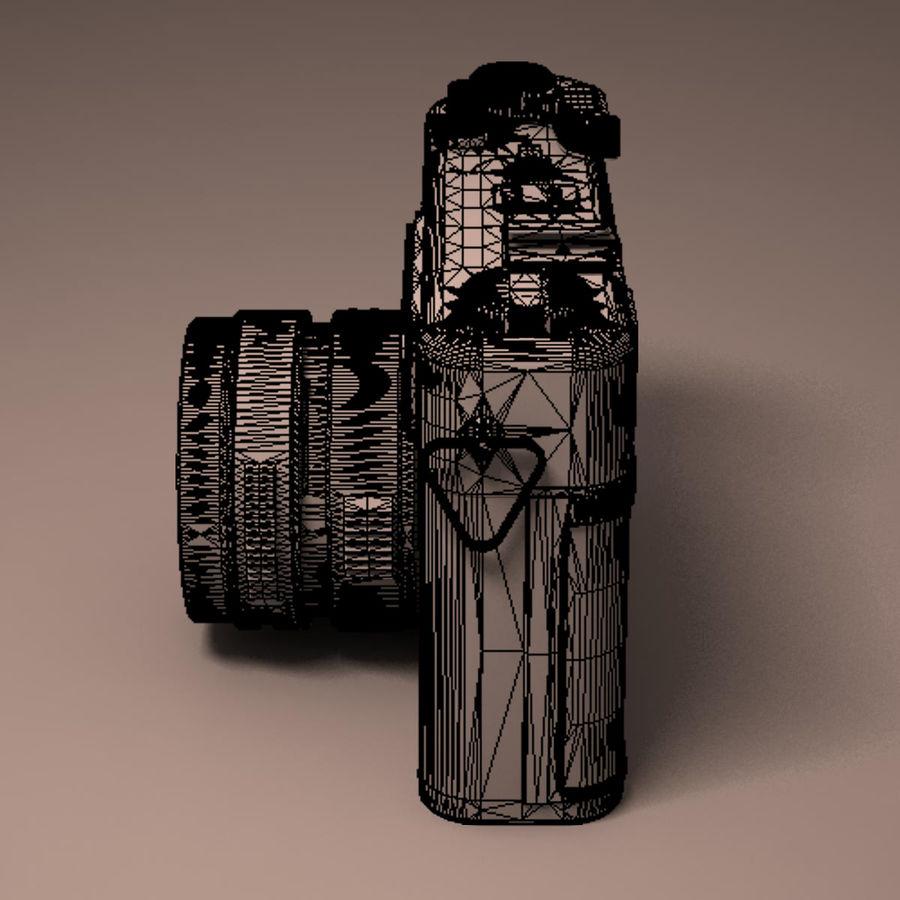 Macchina fotografica analogica royalty-free 3d model - Preview no. 21