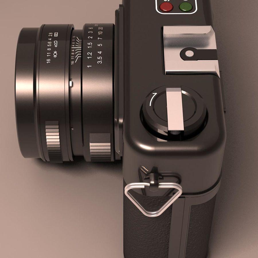 Macchina fotografica analogica royalty-free 3d model - Preview no. 9