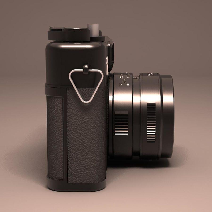 Macchina fotografica analogica royalty-free 3d model - Preview no. 5