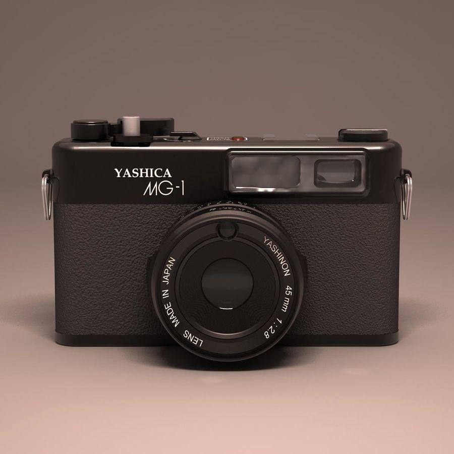 Macchina fotografica analogica royalty-free 3d model - Preview no. 2