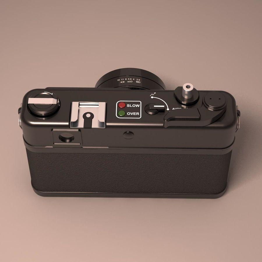 Macchina fotografica analogica royalty-free 3d model - Preview no. 7