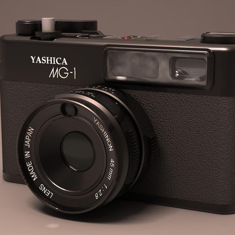 Macchina fotografica analogica royalty-free 3d model - Preview no. 12