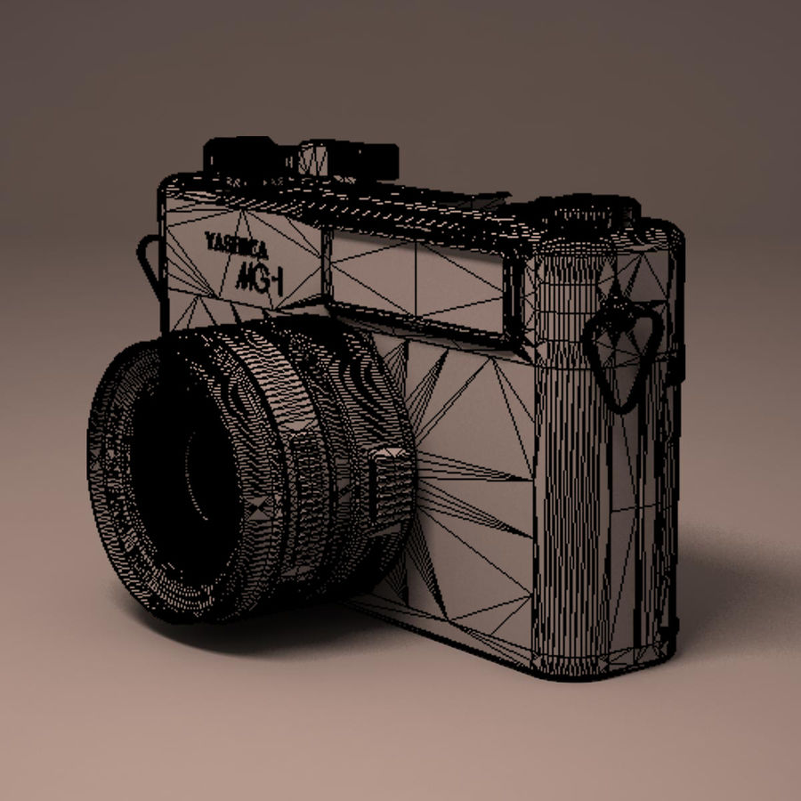 Macchina fotografica analogica royalty-free 3d model - Preview no. 22