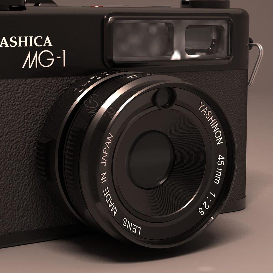 Macchina fotografica analogica royalty-free 3d model - Preview no. 4