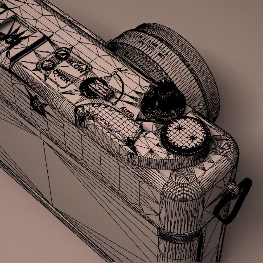 Macchina fotografica analogica royalty-free 3d model - Preview no. 17