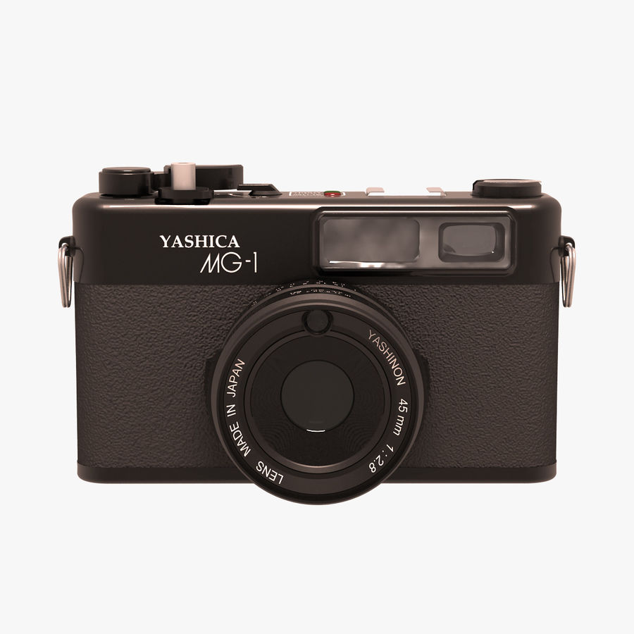 Macchina fotografica analogica royalty-free 3d model - Preview no. 1