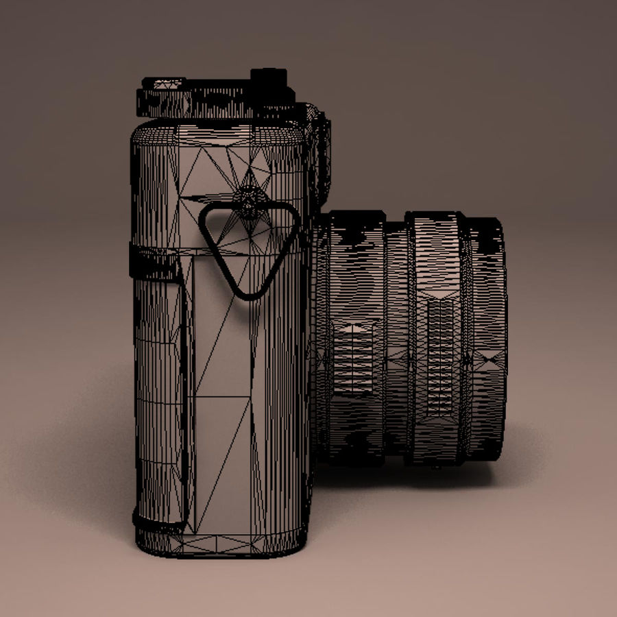 Macchina fotografica analogica royalty-free 3d model - Preview no. 16