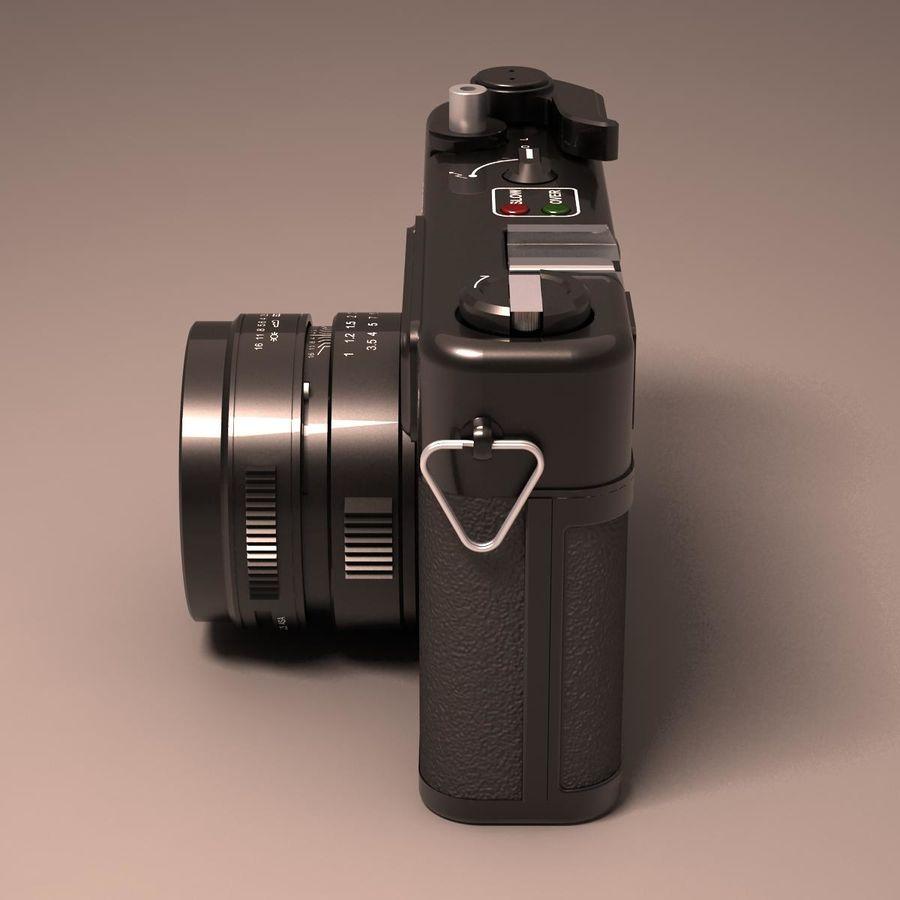 Macchina fotografica analogica royalty-free 3d model - Preview no. 10