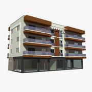 City House Building 2 3d model