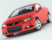 Honda Civic Si Coupe 2012 3d model