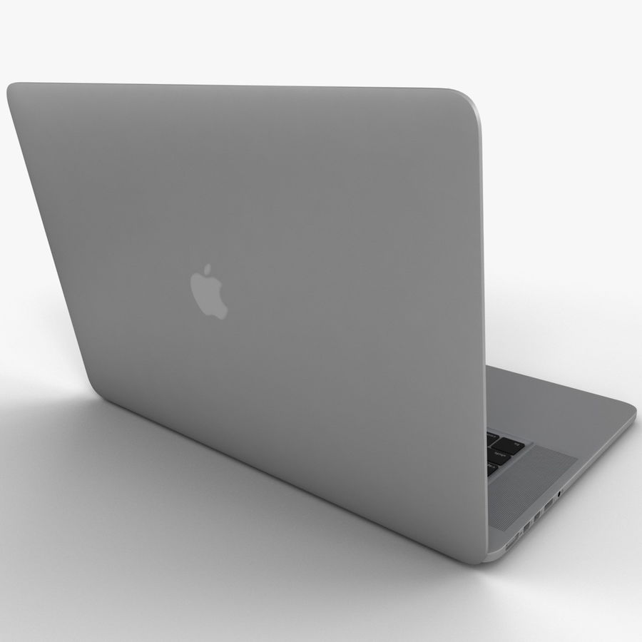 MacBook Pro视网膜显示屏 royalty-free 3d model - Preview no. 6