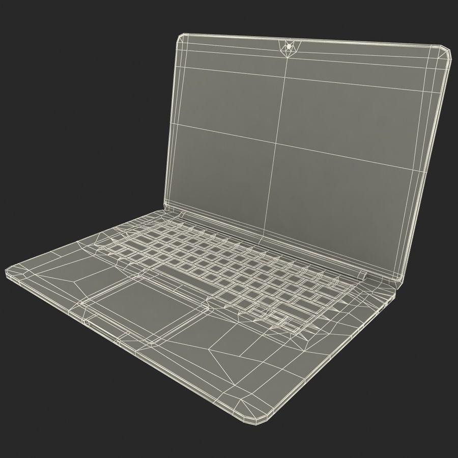 MacBook Pro视网膜显示屏 royalty-free 3d model - Preview no. 20