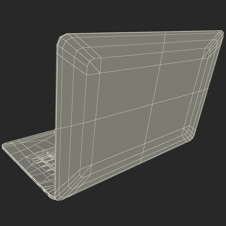 MacBook Pro视网膜显示屏 royalty-free 3d model - Preview no. 18