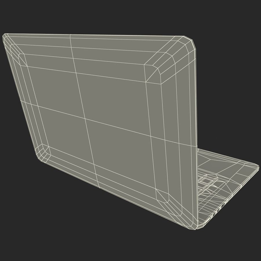 MacBook Pro视网膜显示屏 royalty-free 3d model - Preview no. 17