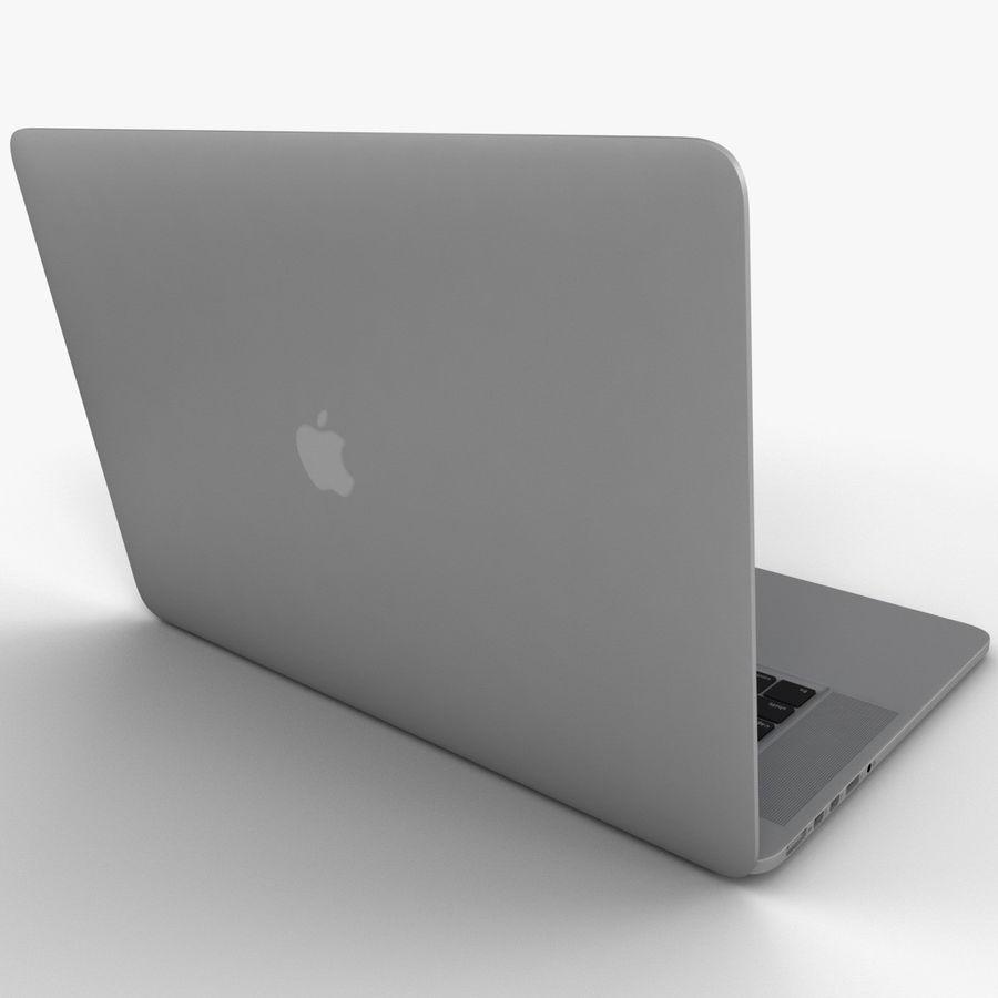 MacBook Pro视网膜显示屏 royalty-free 3d model - Preview no. 6