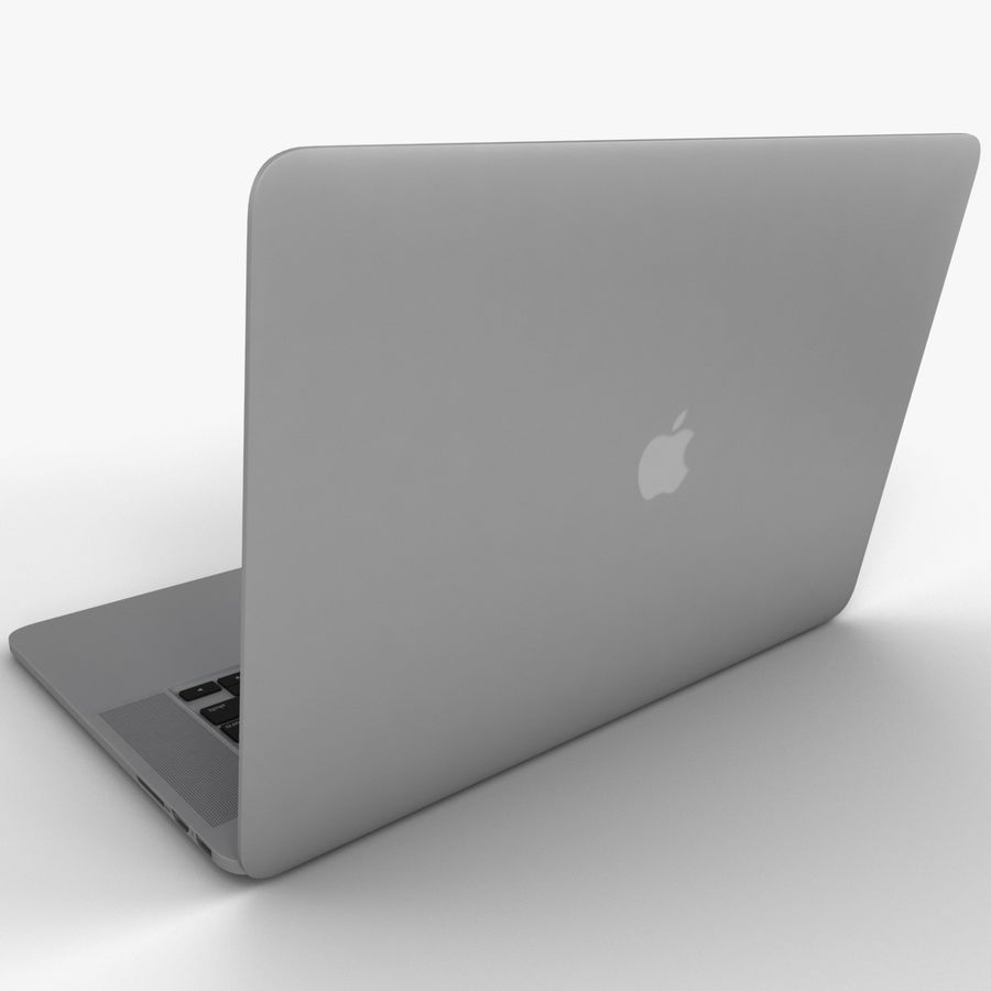 MacBook Pro视网膜显示屏 royalty-free 3d model - Preview no. 7