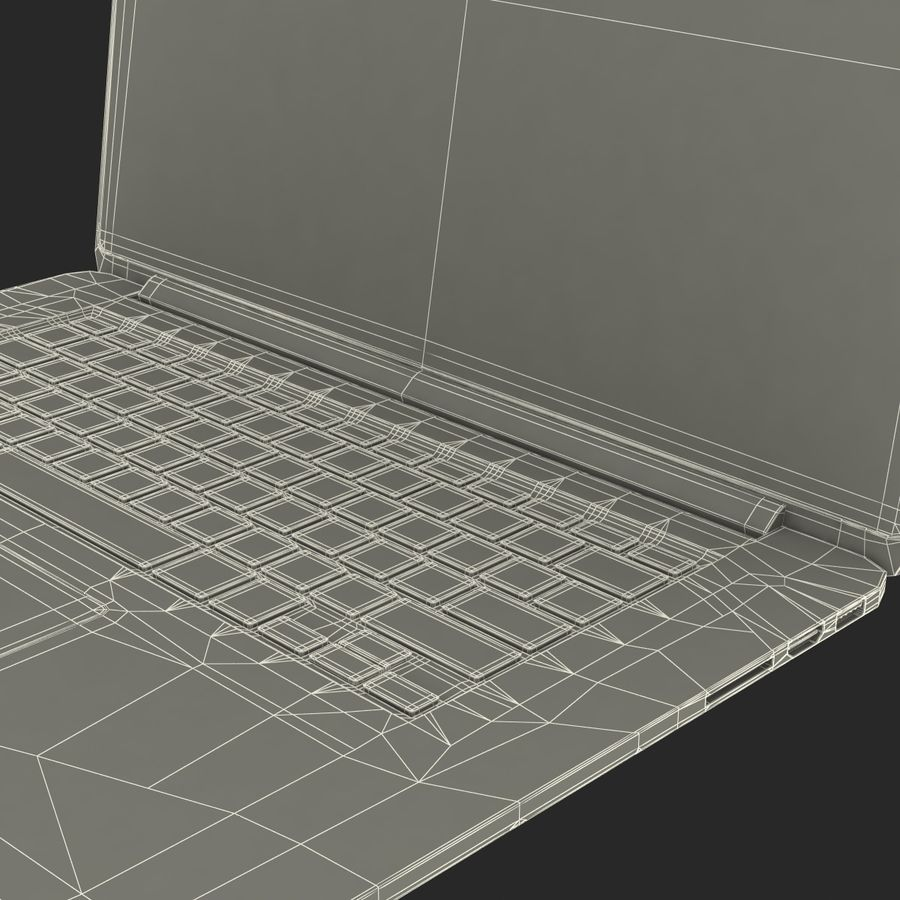 MacBook Pro视网膜显示屏 royalty-free 3d model - Preview no. 22