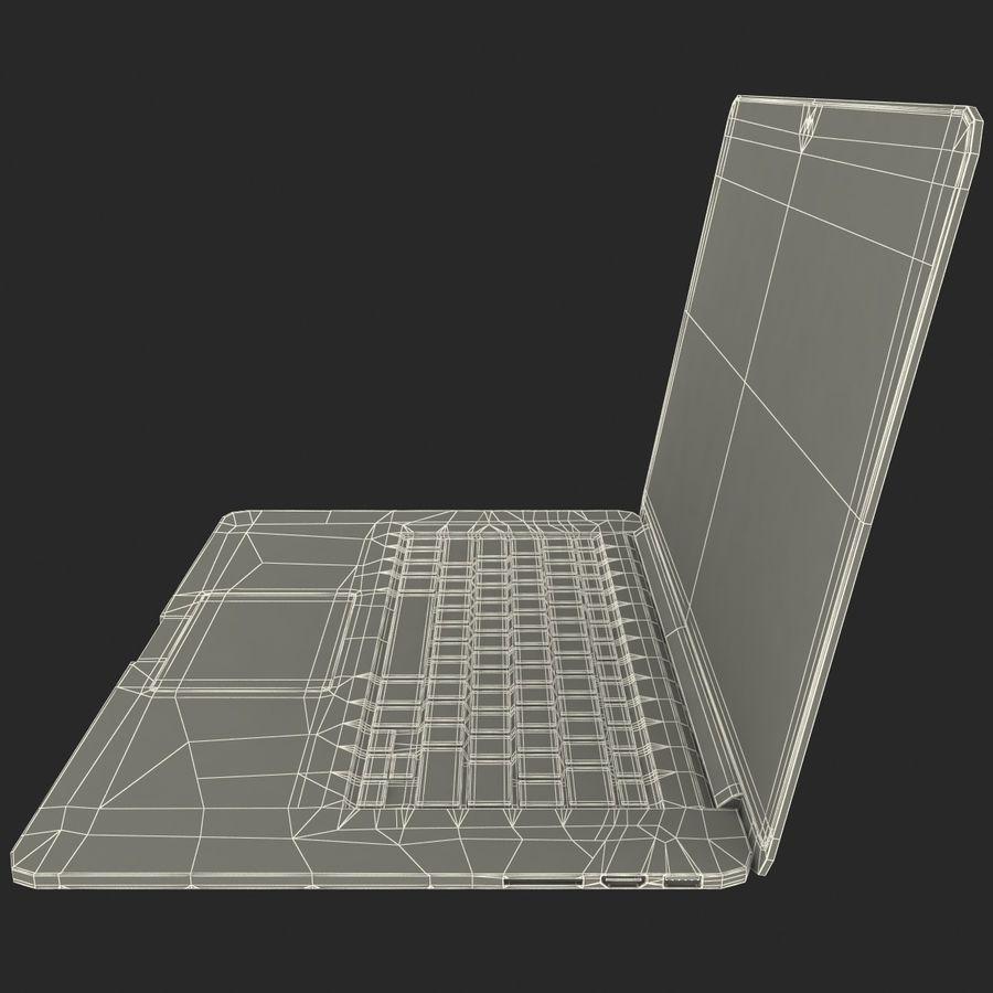 MacBook Pro视网膜显示屏 royalty-free 3d model - Preview no. 19