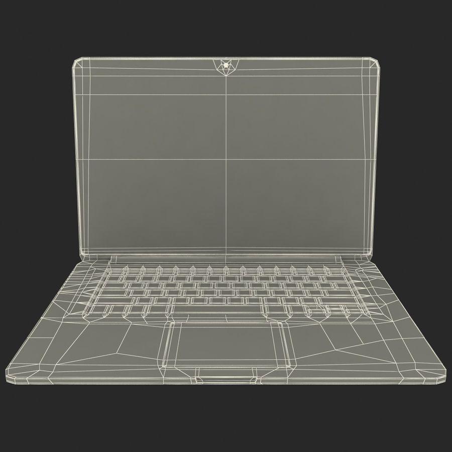 MacBook Pro视网膜显示屏 royalty-free 3d model - Preview no. 14