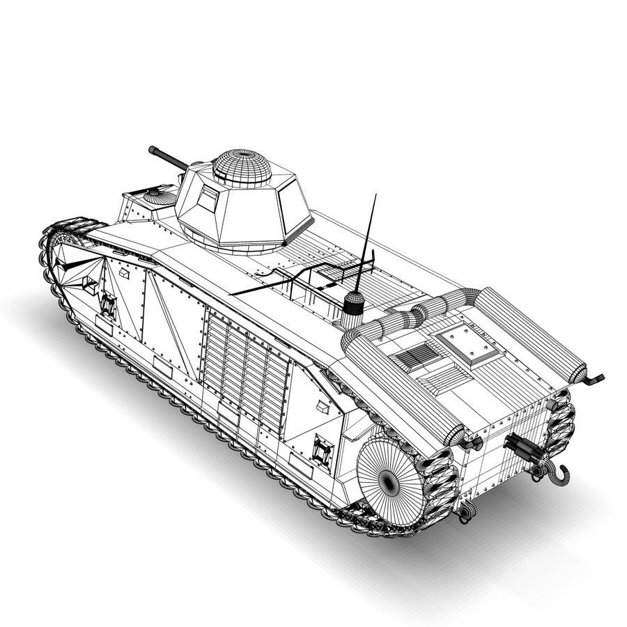 Zeichen B1 royalty-free 3d model - Preview no. 9
