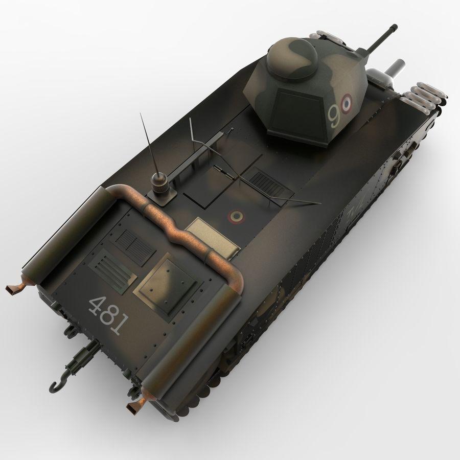 Zeichen B1 royalty-free 3d model - Preview no. 5