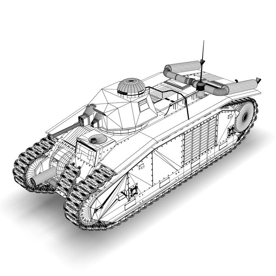 Zeichen B1 royalty-free 3d model - Preview no. 7