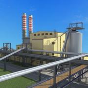 Energiecentrale 3d model