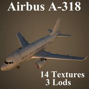 A318 3d model
