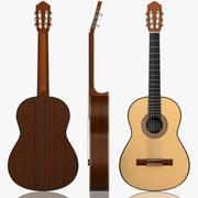 Guitarra clássica 3d model