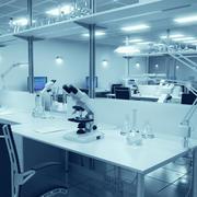 Интерьер исследовательской лаборатории 3d model
