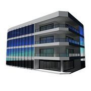 Здание Майами 3d model