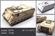 M113-APC 3d model