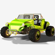 砂バギー 3d model