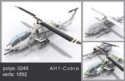 Helikopter-Cobra 3d model