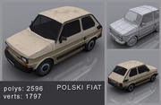 Polski Fiat 3d model