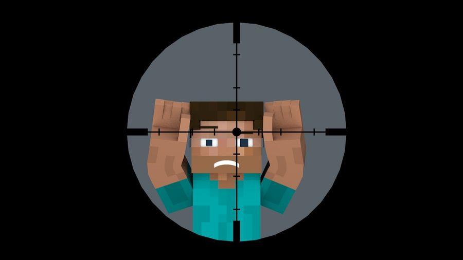 Armas y armas de Minecraft royalty-free modelo 3d - Preview no. 5