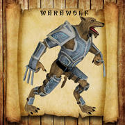 Werwolf 3d model