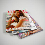 revistas 3d model
