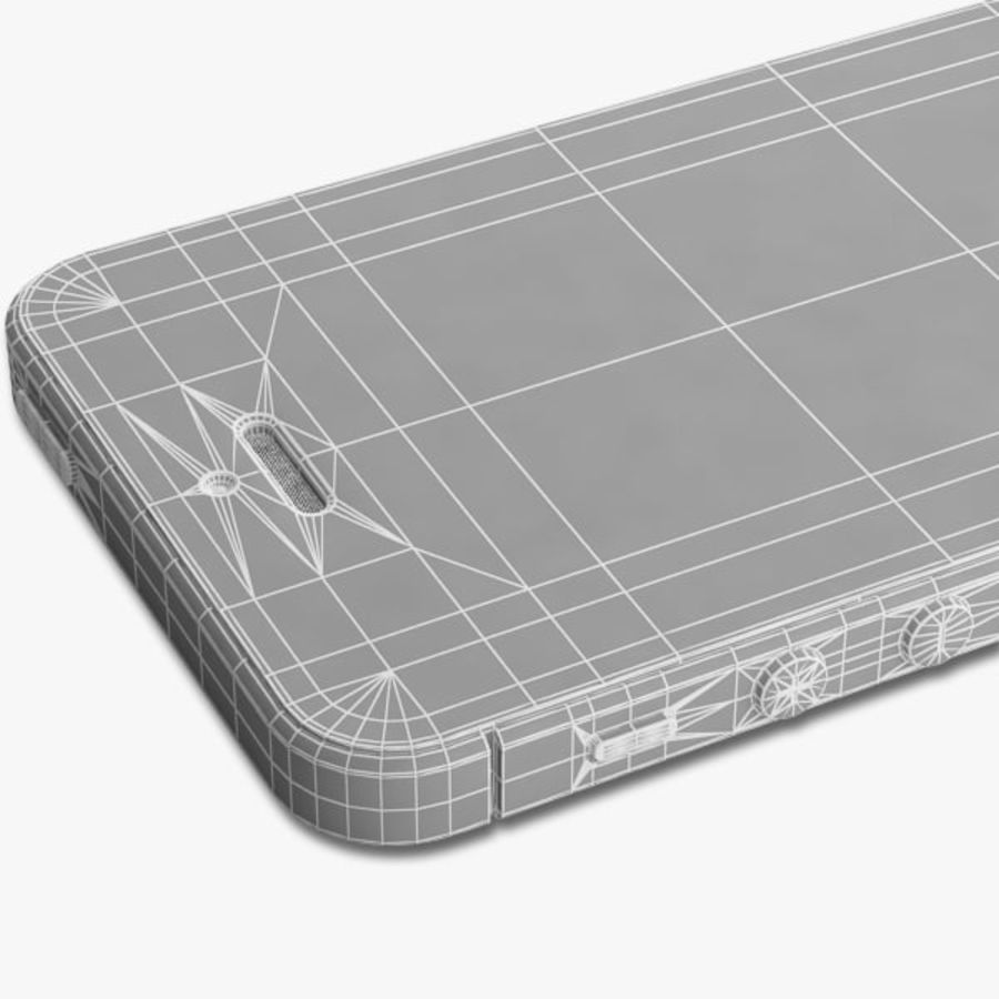 Apple iPhone 5 royalty-free 3d model - Preview no. 19