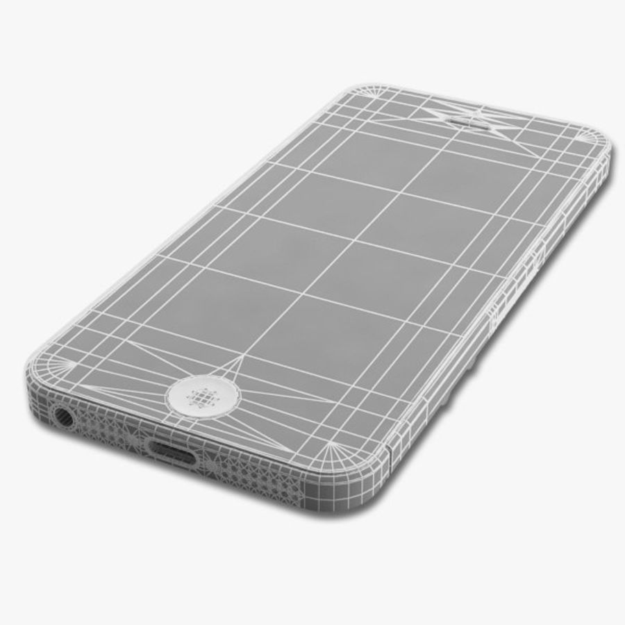 Apple iPhone 5 royalty-free 3d model - Preview no. 16