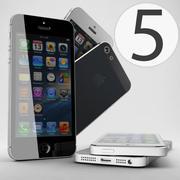 苹果iPhone 5 3d model