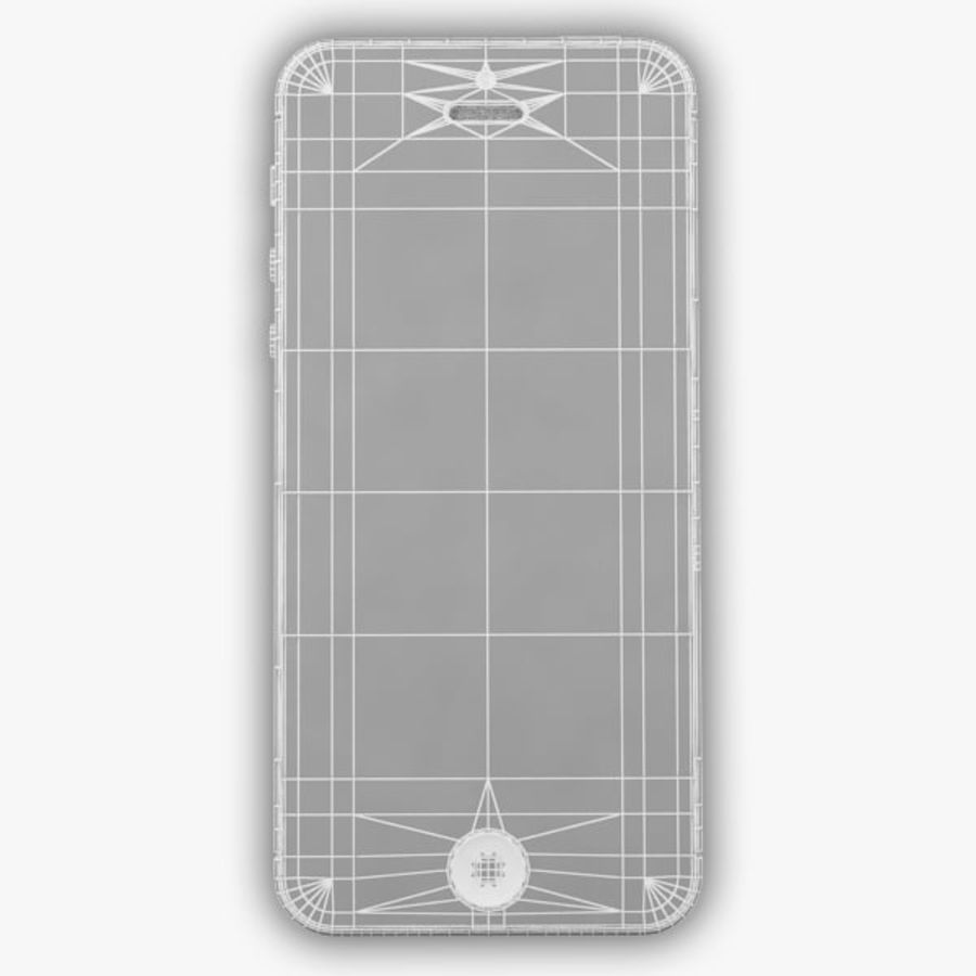 Apple iPhone 5 royalty-free 3d model - Preview no. 14