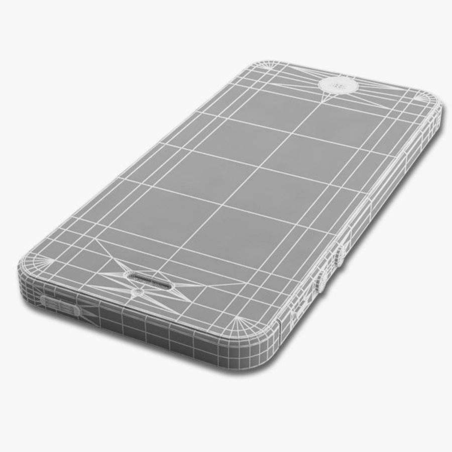 Apple iPhone 5 royalty-free 3d model - Preview no. 17