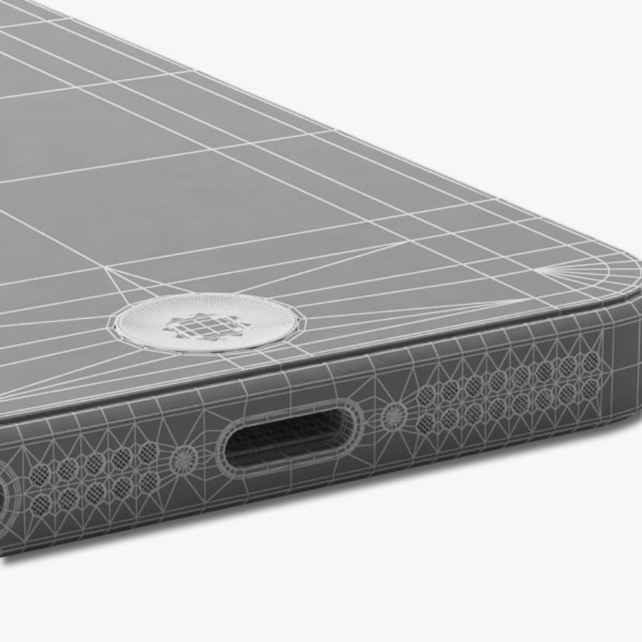 Apple iPhone 5 royalty-free 3d model - Preview no. 18