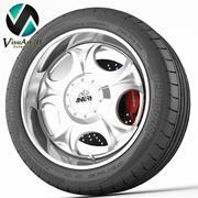 Wheel Antera 323 3d model