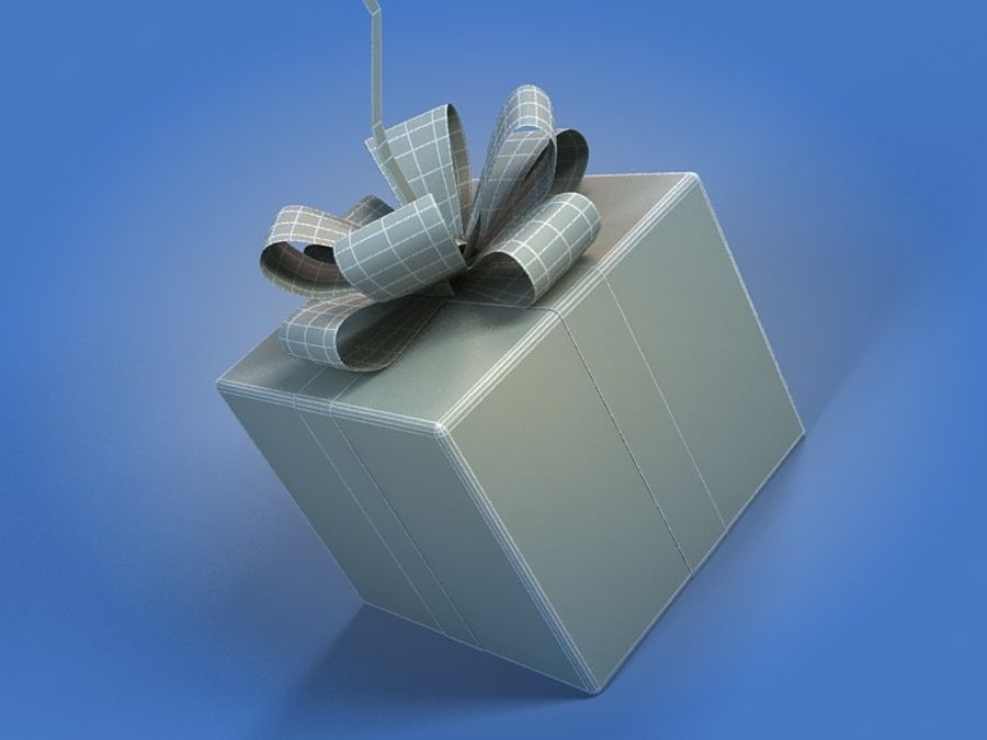 Birthday Balloon royalty-free 3d model - Preview no. 5