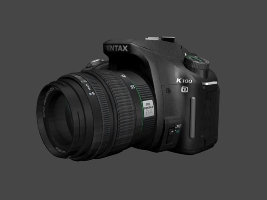 Very realistic pentax SLR Camera royalty-free 3d model - Preview no. 8