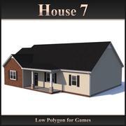 Casa poligonal baja 7 modelo 3d