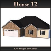 Low Polygon House 12 modelo 3d