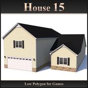Low Polygon House 15 modelo 3d